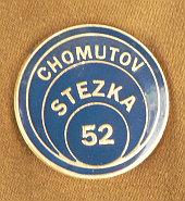 Odznak z 52.Stezky (Chomutov=město válcoven trub...)