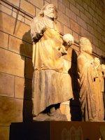 Spasitel, vpravo sv. Petr | zvláště Ježíš je pojat dost moderně (z ca xiii. stol. bez záruky)| Přidal: IvSi, id:20120618134217798