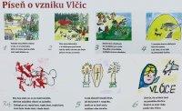 Píseň o vzniku Vlčic | upraveno z ofocené tabule| Přidal: Roman, id:20160720053124399