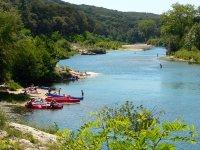 Vodáci na řece Gardon | | Přidal: IvSi, id:20120618134220868