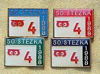 50. 4ková Stezka | květen 1989 Harz (odznak na každý den)| Přidal: Admin, id:20100921132656480