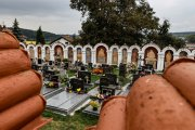Kapličkový hřbitov   Albrechtice nad Vltavou  Přidal: IvSi, id:20211002132934325