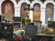 Albrechtice nad Vltavou   unikátní kapličkový hřbitov  Přidal: Drahos, id:20211011152605399